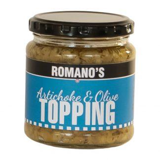 Romanos-artichoke-olive-topping